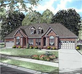 House Plan #153-1016