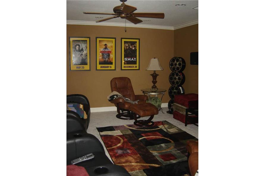 Media Room of this 4-Bedroom,3343 Sq Ft Plan -3343