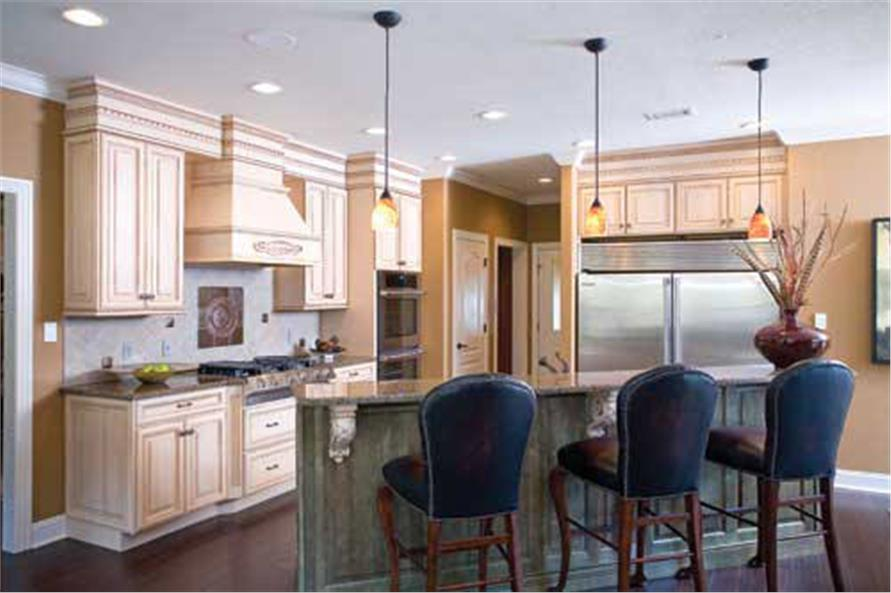Kitchen of this 4-Bedroom,3343 Sq Ft Plan -3343