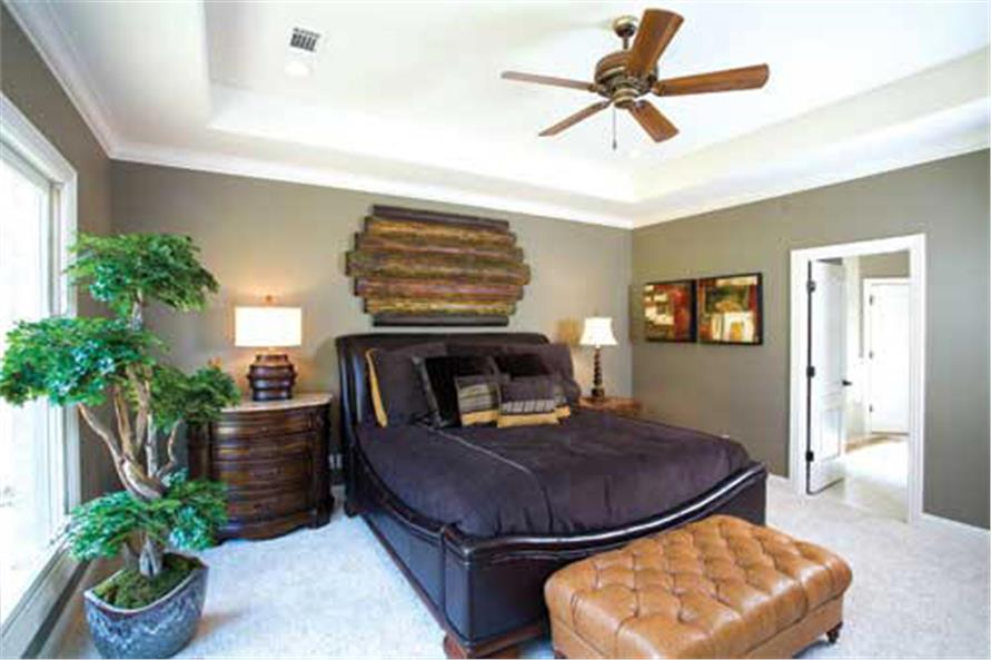 Master Bedroom of this 4-Bedroom,3343 Sq Ft Plan -3343