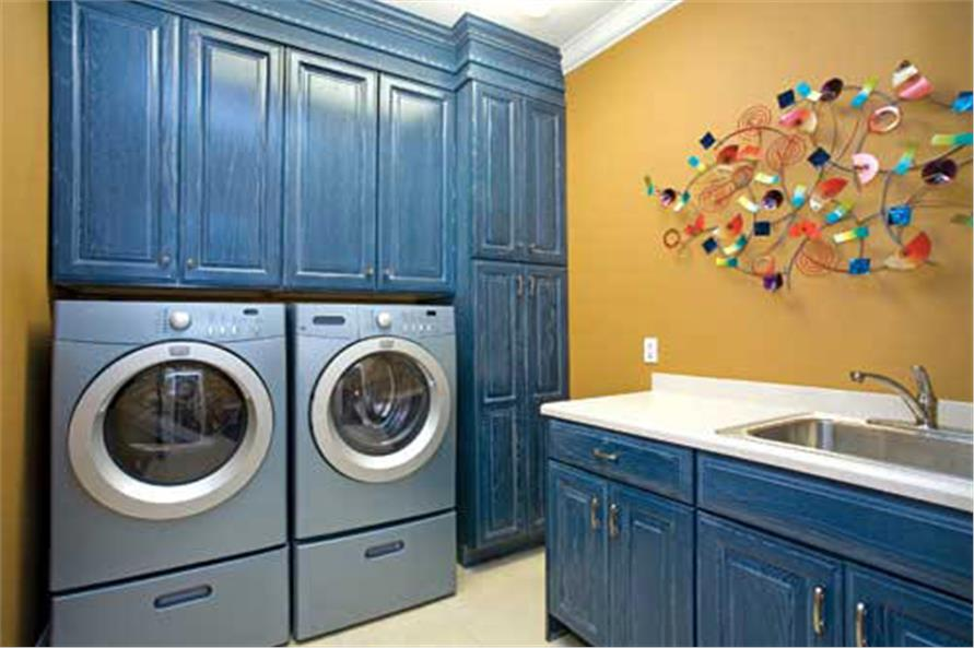 Laundry Room of this 4-Bedroom,3343 Sq Ft Plan -3343
