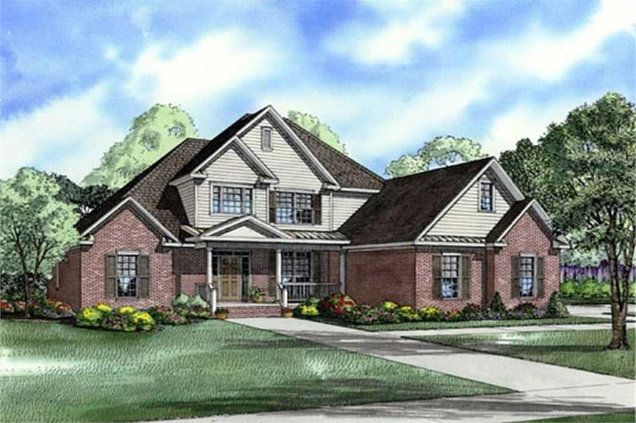 Main image for house plan # 17661