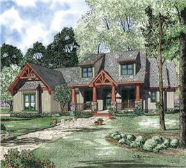House Plan #153-1020