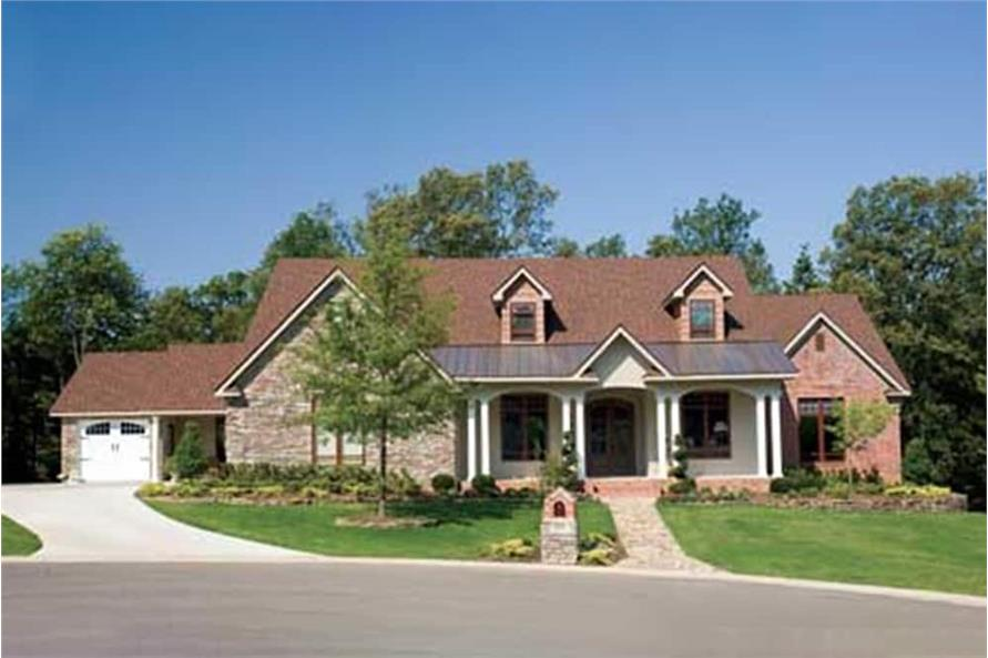 Porch of this 5-Bedroom,4827 Sq Ft Plan -4827