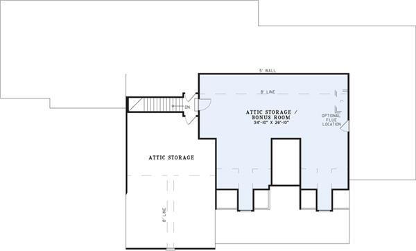 153-1021: Floor Plan Upper Level