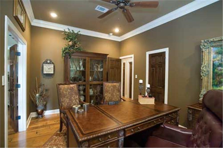 153-1021: Home Interior Photograph-Dining Room