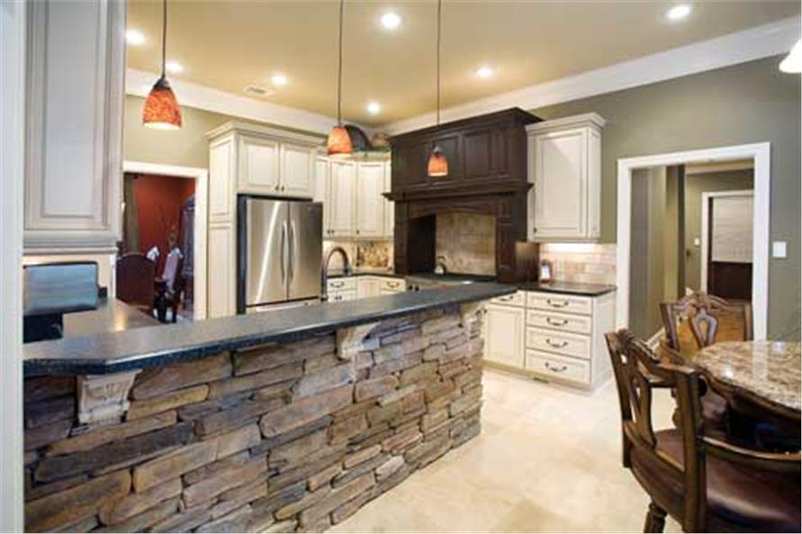 Kitchen of this 5-Bedroom,4827 Sq Ft Plan -4827