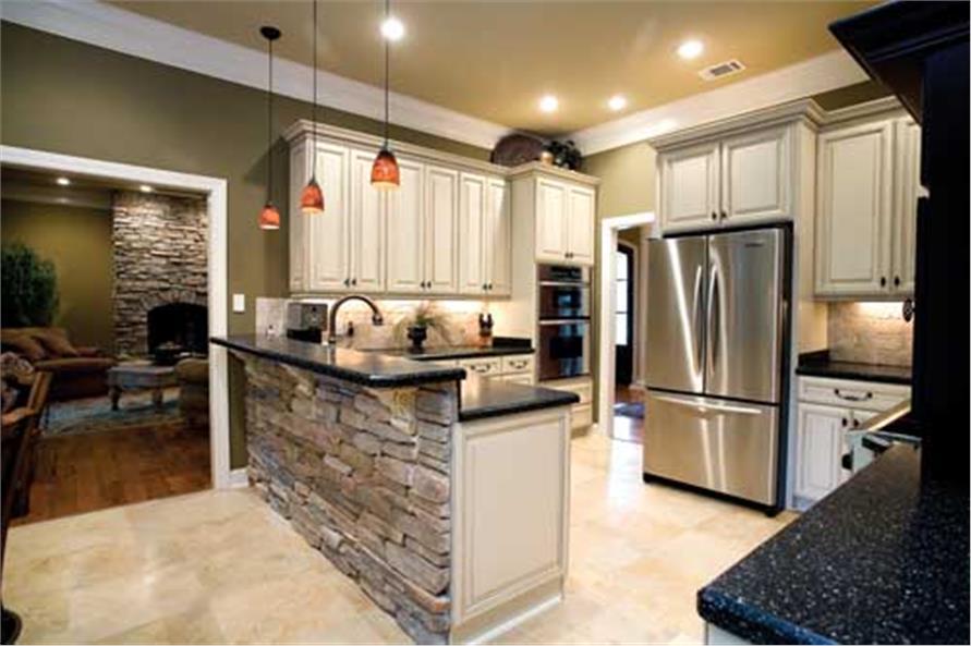 153-1021: Home Interior Photograph-Kitchen
