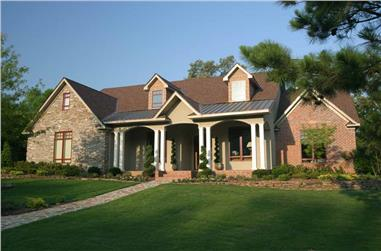 5-Bedroom, 4827 Sq Ft Luxury House Plan - 153-1021 - Front Exterior