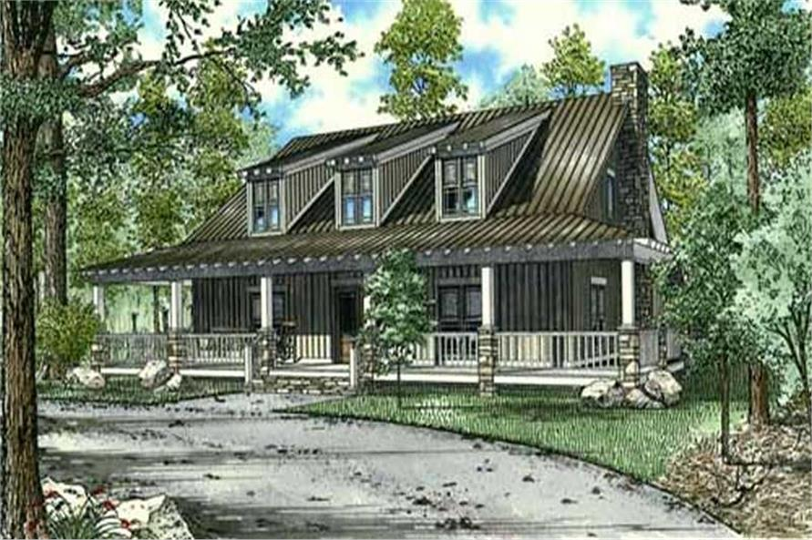 10-Bedroom, 4134 Sq Ft Craftsman House Plan - 153-1023 - Front Exterior