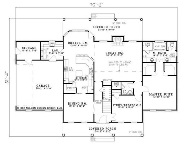 HOME PLAN NDG-111