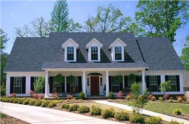 5-Bedroom, 2698 Sq Ft Southern Country Home Plan - 153-1028 - Main Exterior