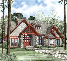 House Plan #153-1029