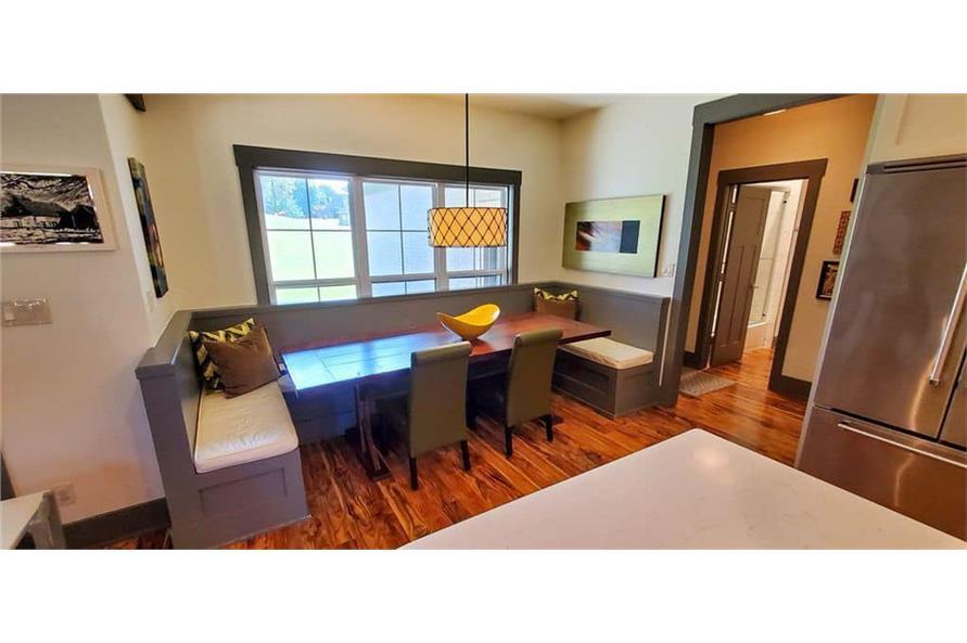 Kitchen: Breakfast Nook of this 4-Bedroom,3206 Sq Ft Plan -153-1029