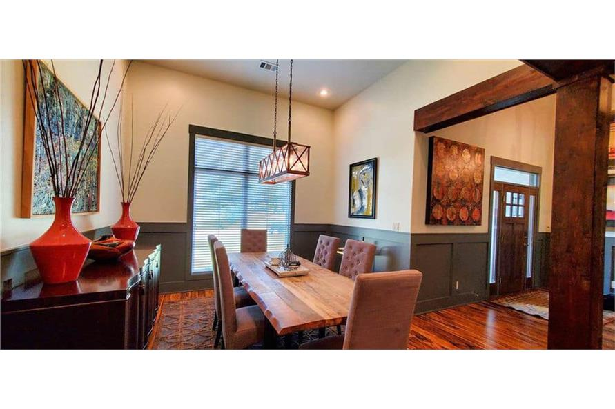 Dining Room of this 4-Bedroom,3206 Sq Ft Plan -153-1029