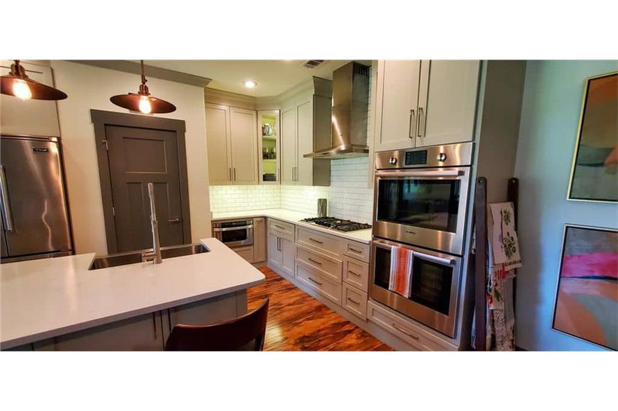 Kitchen of this 4-Bedroom,3206 Sq Ft Plan -153-1029