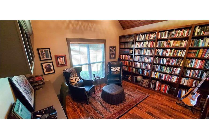 Media Room of this 4-Bedroom,3206 Sq Ft Plan -153-1029