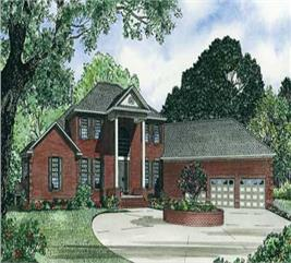 House Plan #153-1034