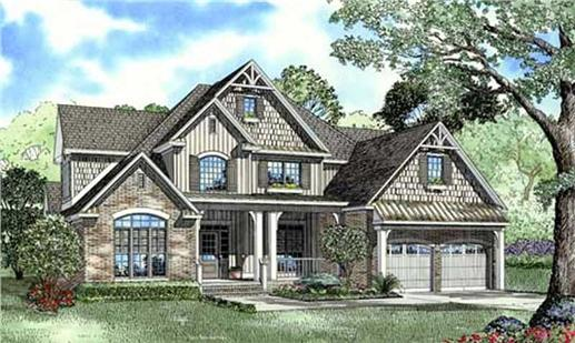 Main image for house plan # 17658