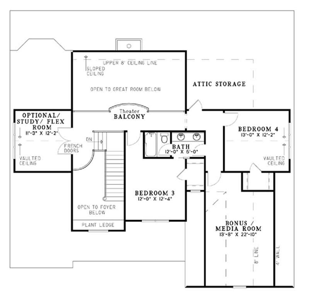 HOME PLAN NDG-947B