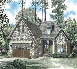 House Plan #153-1044
