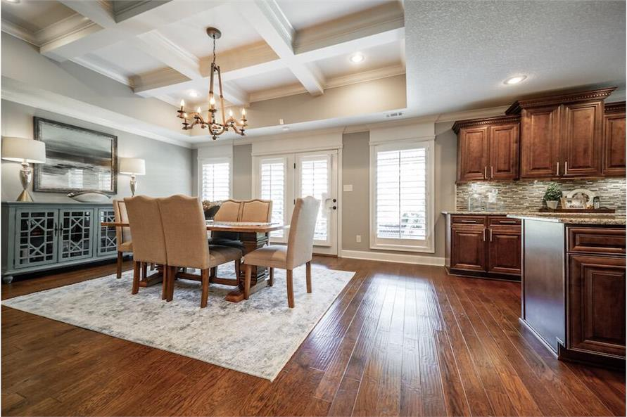 Dining Room of this 3-Bedroom,1572 Sq Ft Plan -1572