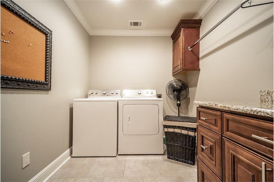 Laundry Room of this 3-Bedroom,1572 Sq Ft Plan -1572