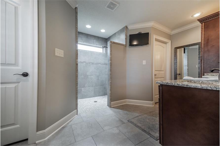 Master Bathroom of this 3-Bedroom,1572 Sq Ft Plan -1572