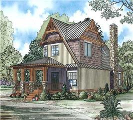 House Plan #153-1050