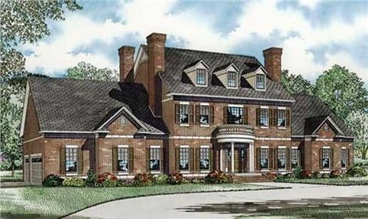 traditional house plans two story - Traditional House Plans