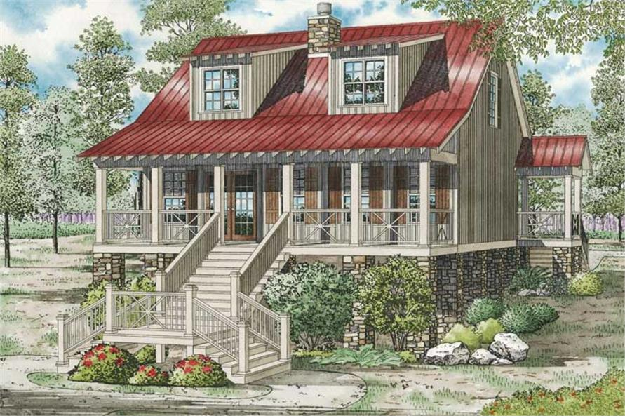 Main image for house plan # 19830