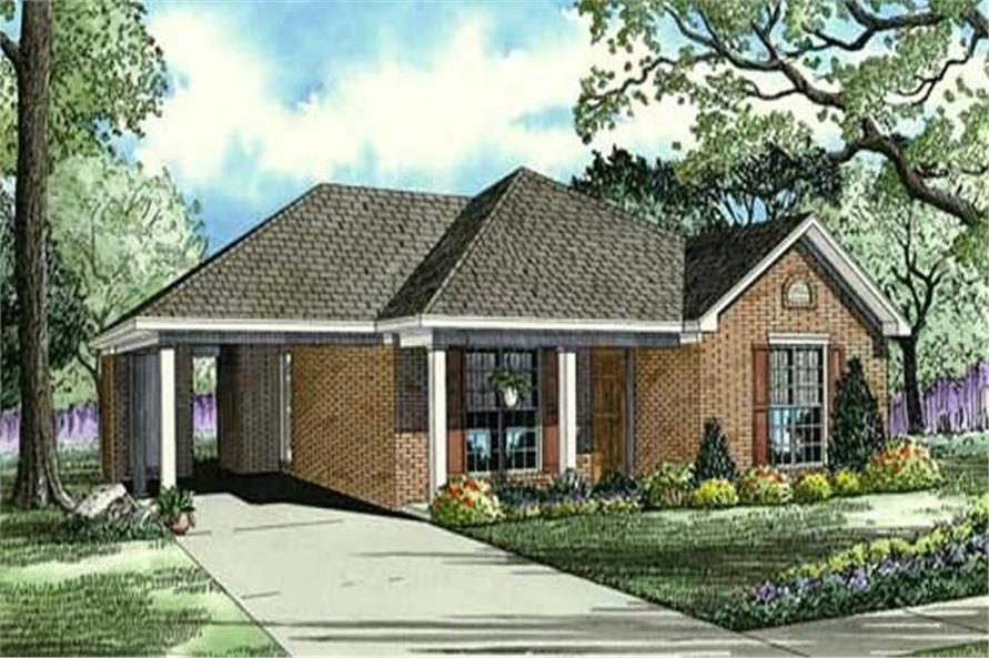 Main image for house plan # 19451
