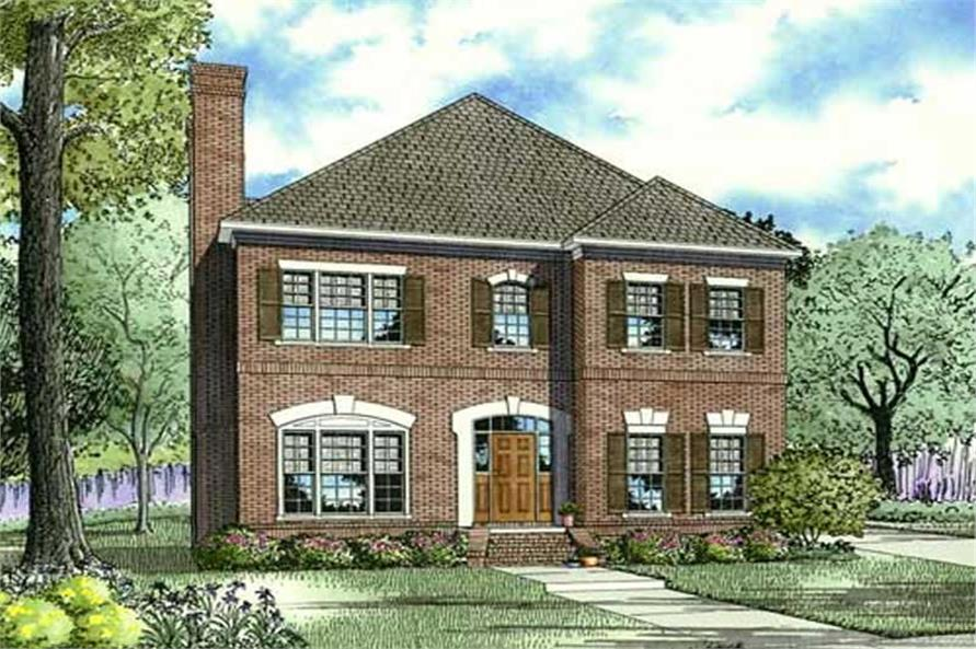 Main image for house plan # 19449