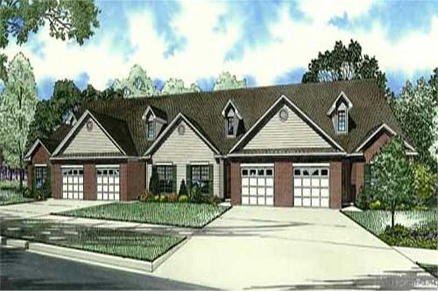 Main image for house plan # 19444