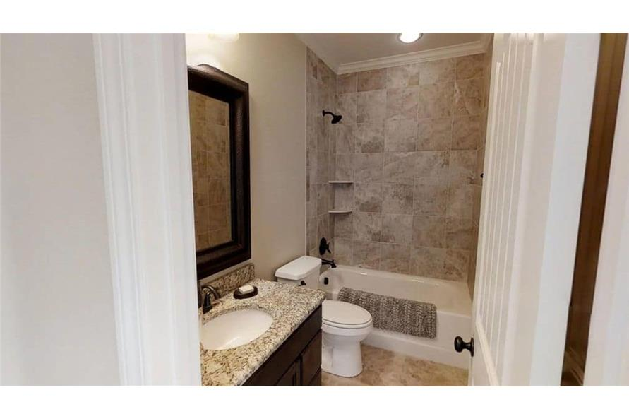 Bathroom of this 4-Bedroom,3580 Sq Ft Plan -3580