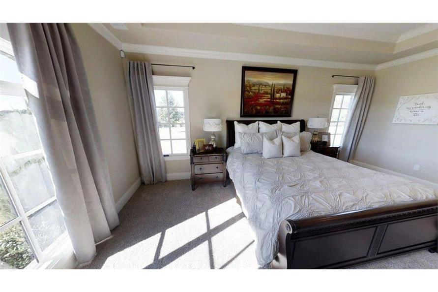 Master Bedroom of this 4-Bedroom,3580 Sq Ft Plan -3580