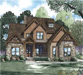 House Plan #153-1092