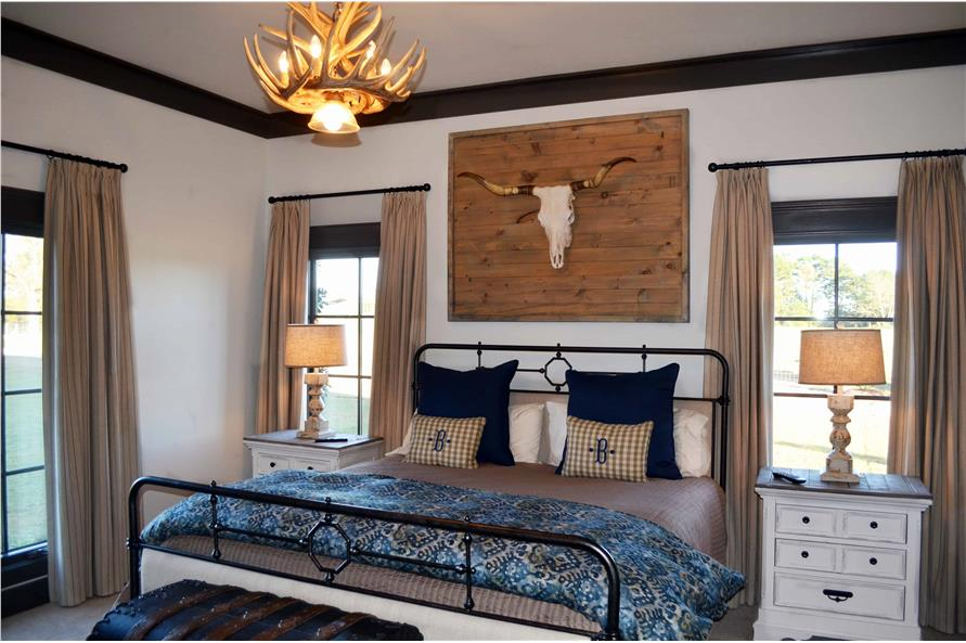 Master Bedroom of this 4-Bedroom,3766 Sq Ft Plan -3766