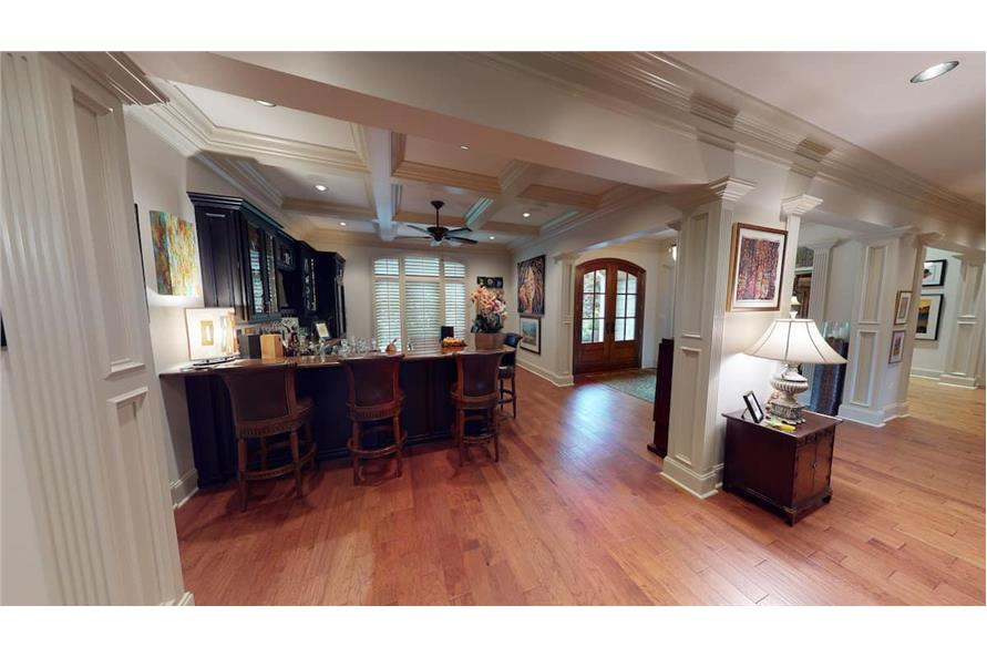 Entry Hall of this 4-Bedroom,3766 Sq Ft Plan -153-1095