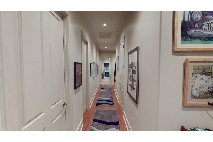 Hallway of this 4-Bedroom,3766 Sq Ft Plan -153-1095