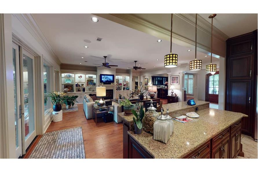 Great Room of this 4-Bedroom,3766 Sq Ft Plan -153-1095