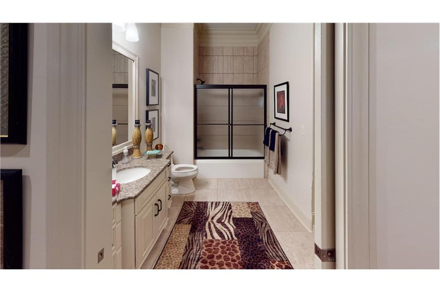 Bathroom of this 4-Bedroom,3766 Sq Ft Plan -153-1095