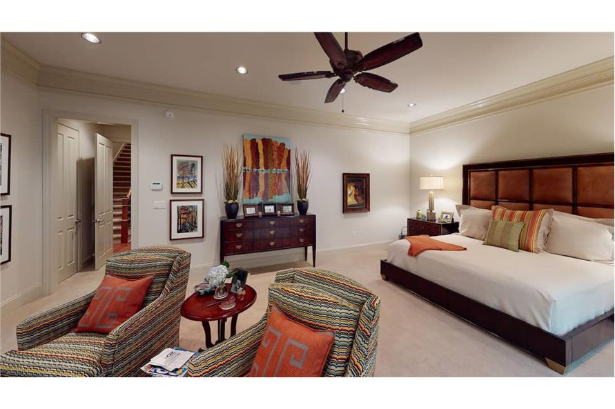 Master Bedroom of this 4-Bedroom,3766 Sq Ft Plan -153-1095