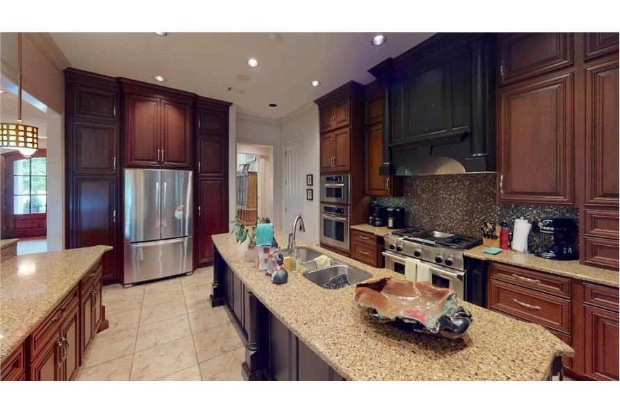 Kitchen of this 4-Bedroom,3766 Sq Ft Plan -153-1095