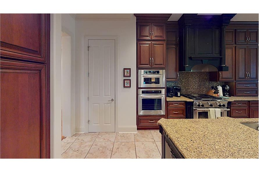 Kitchen: Pantry of this 4-Bedroom,3766 Sq Ft Plan -153-1095