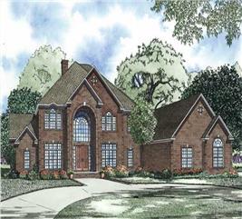 House Plan #153-1096