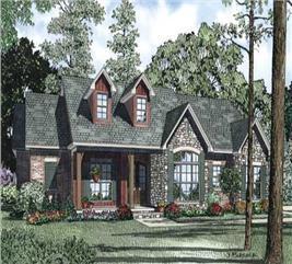 House Plan #153-1115