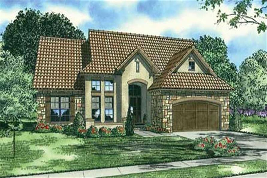 4-Bedroom, 2338 Sq Ft Country Home Plan - 153-1120 - Main Exterior