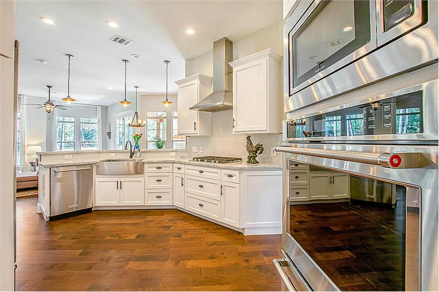 Kitchen of this 5-Bedroom,4501 Sq Ft Plan -4501