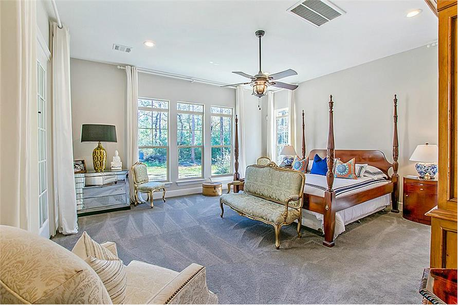 Master Bedroom of this 5-Bedroom,4501 Sq Ft Plan -4501